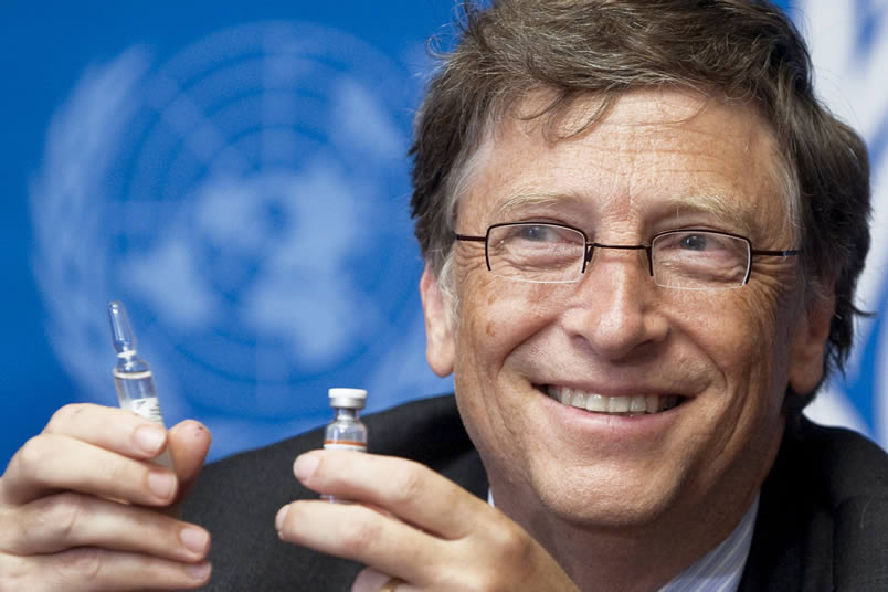 Bill Gates et l'OMS